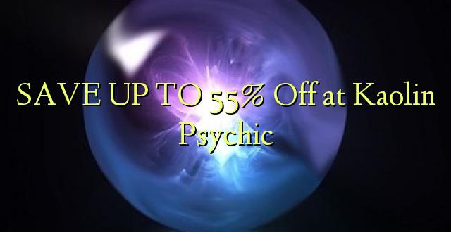 BONYEZA KWA 55% Ondoka Kaolin Psychic
