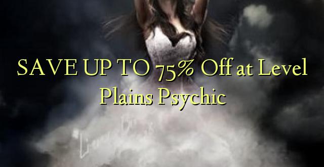 BONYEZA KWA 75% Off katika Plains Psychic