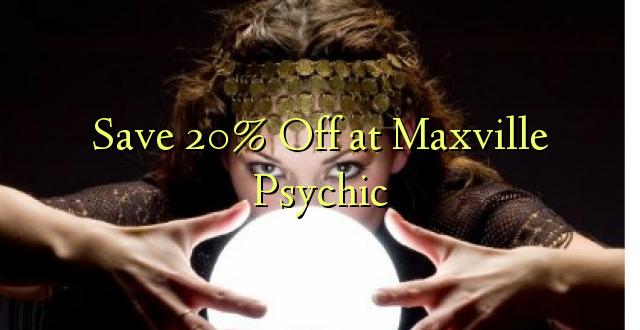 Okoa 20% Off katika Maxville Psychic