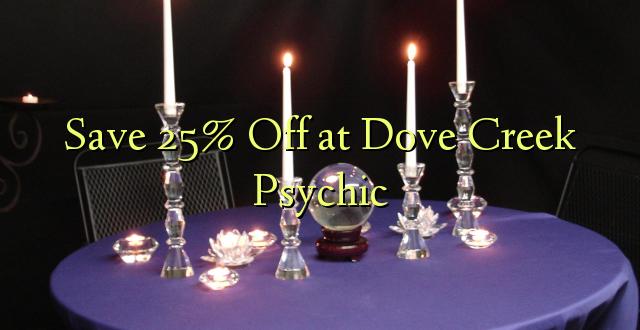 Okoa 25% Off at Dove Creek Psychic