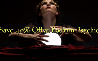 Gem 40% Off ved Bodmin Psychic