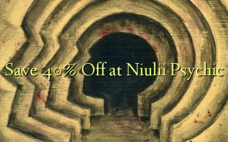 Hifadhi 40% Nenda kwenye Niulii Psychic