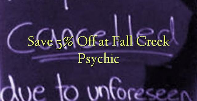 Okoa 5% F at Fall Creek Psychic