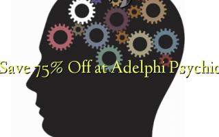 Gem 75% Off på Adelphi Psychic
