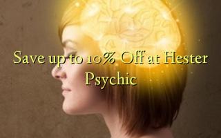 Gem op til 10% Off på Hester Psychic