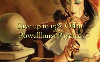 Gem op til 15% Off ved Powellhurst Psychic