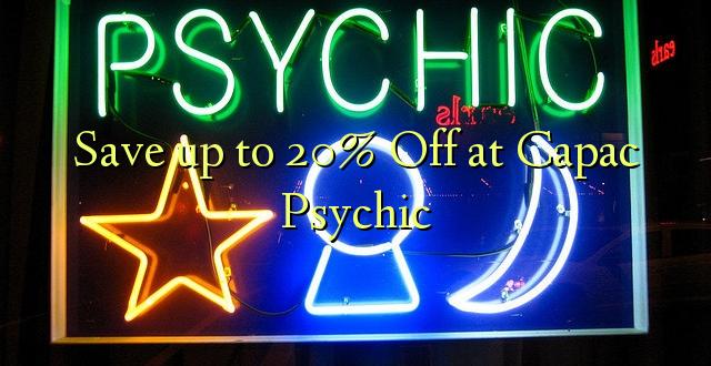 Okoa hadi 20% Off at Capac Psychic