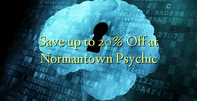 Okoa hadi 20% Off huko Normantown Psychic
