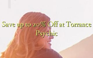 Gem op til 20% Off ved Torrance Psychic