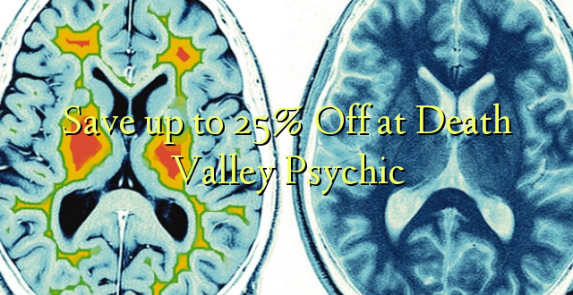 Okoa hadi 25% Off at Dead Valley Psychic