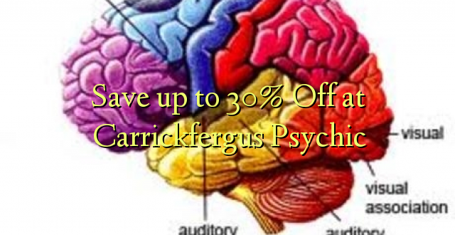 Okoa hadi 30% Off at Carrickfergus Psychic