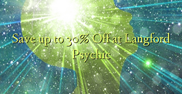 Okoa hadi 30% Off huko Langford Psychic