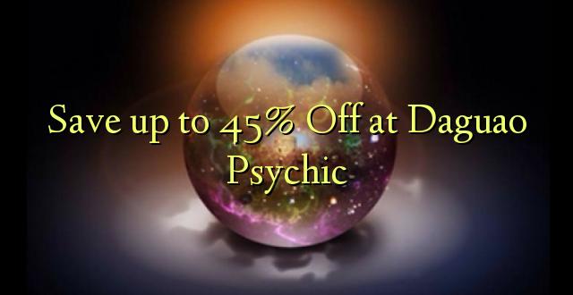 Okoa hadi 45% Off at Daguao Psychic