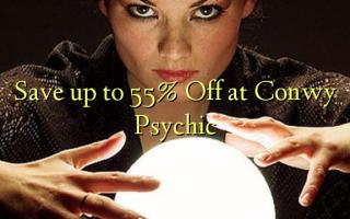 Gem op til 55% Off ved Conwy Psychic
