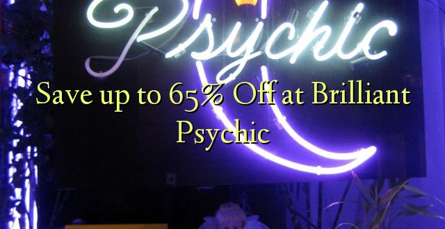 Hifadhi hadi 65% Toka kwenye Psychic ya Kipaji