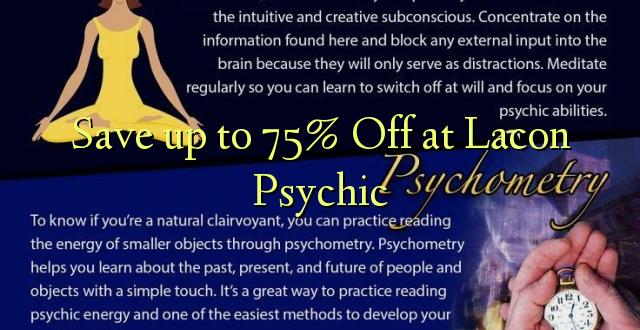 Okoa hadi 75% Off huko Lacon Psychic