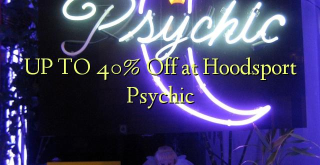 UP TO 40% Toka kwenye Hoodsport Psychic