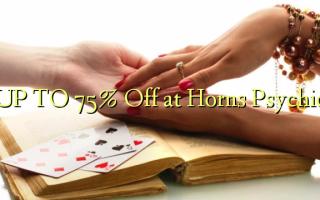 OP TIL 75% Off på Horns Psychic