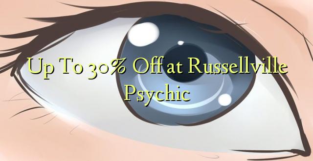 Hadi 30% iko huko Russellville Psychic