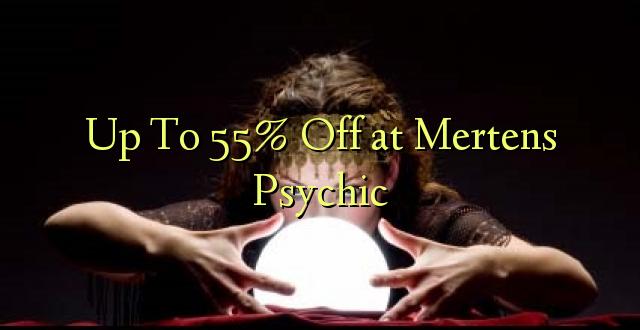 Hadi kufikia 55% Off at Mertens Psychic
