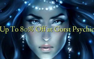 Op til 80% Off ved Gorst Psychic