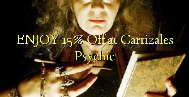 Furahia 15% Toa kwenye Carrizales Psychic