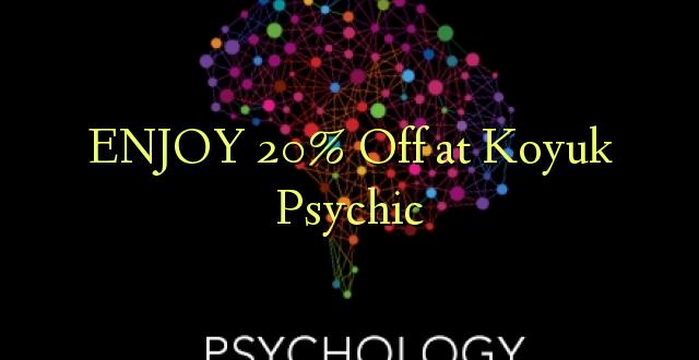 ENJOY 20% Off at Koyuk Psychic