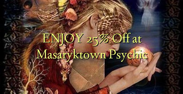 Furahia 25% Toka kwenye Masaryktown Psychic