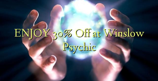 ENJOY 30% Off at Winslow Psychic