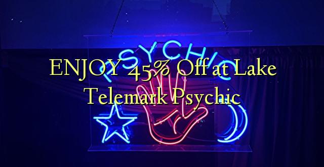 ENJOY 45% iko katika Ziwa Telemark Psychic