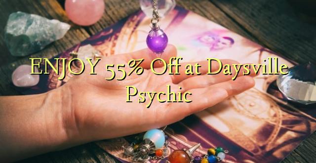 ENJOY 55% Off at Dayville Psychic