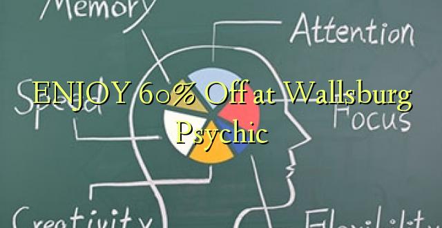 ENJOY 60% Off at Wallsburg Psychic