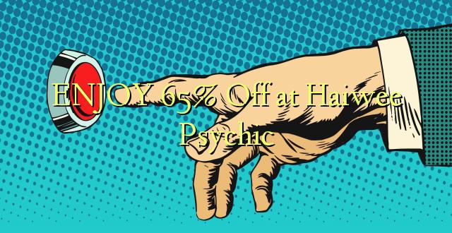 ENJOY 65% Off at Haiwee Psychic