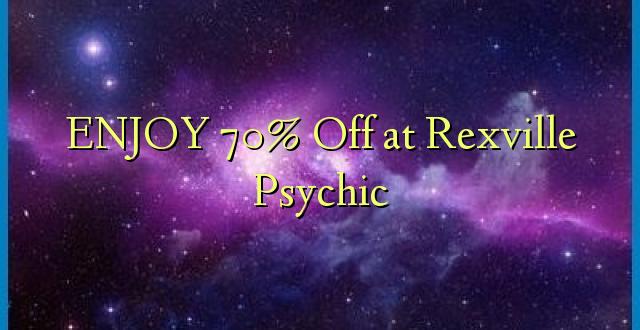 ENJOY 70% Off at Rexville Psychic