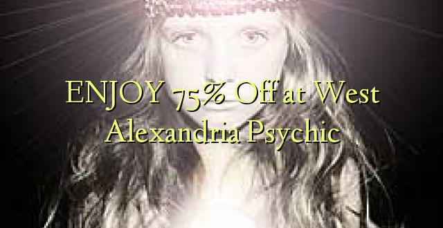 Furahia 75% Toa kwenye West Alexandria Psychic
