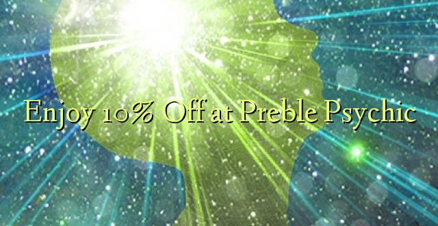 Furahiya 10% Off at Preble Psychic