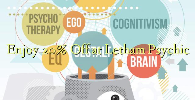 Furahiya 20% Off katika Letham Psychic
