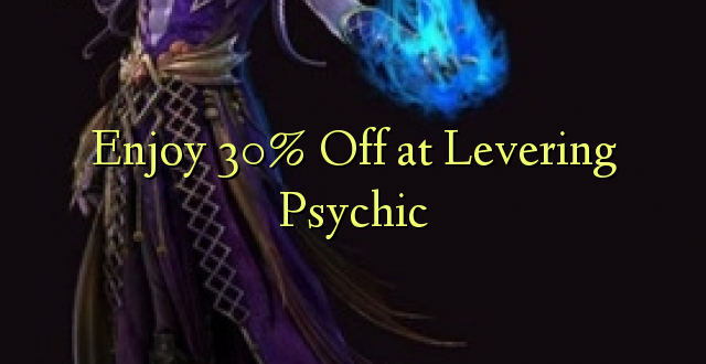 Furahiya 30% Off at Levering Psychic