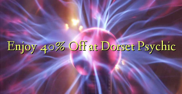 Furahiya 40% Off huko Dorset Psychic
