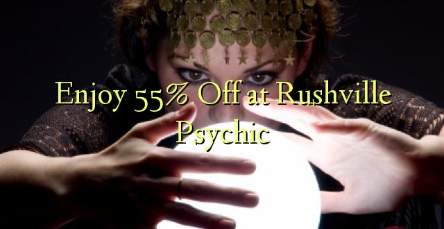 Furahiya 55% Off huko Rushville Psychic