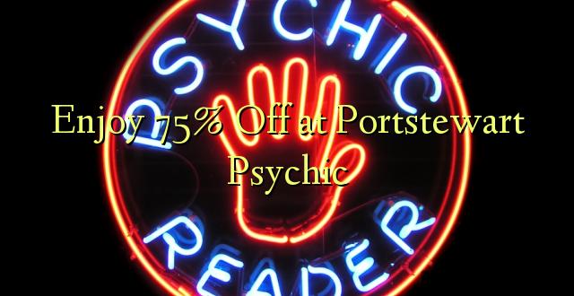 Furahiya 75% Off huko Portstewart Psychic