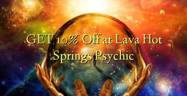 PATA 10% Okoa katika Lava Hot Springs Psychic