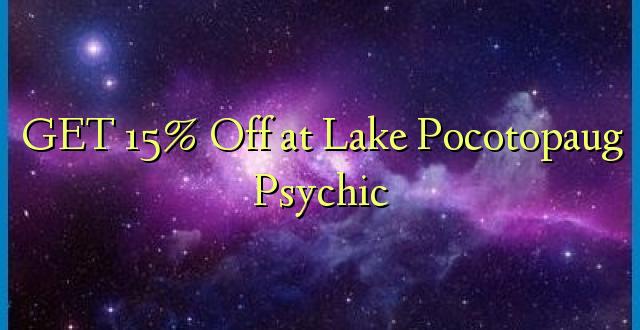 PATA 15% Olewa katika Ziwa Pocotopaug Psychic