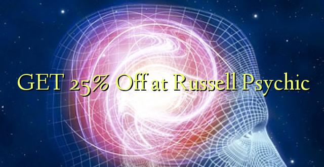 PATA 25% amepita kwa Russell Psychic