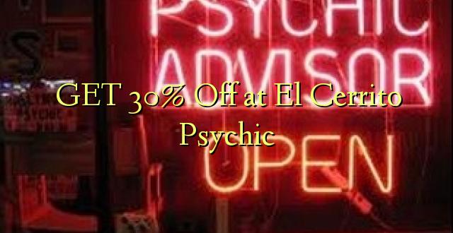 PATA 30% Okoa kwa El Cerrito Psychic