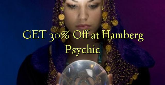 Pata 30% Toka kwenye Psychic ya Hamberg