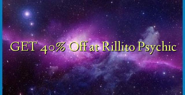 PATA 40% Okoa Rillito Psychic