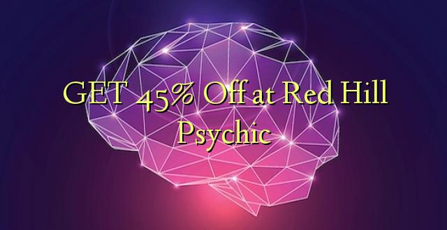 PATA 45% Okoa kwa Red Hill Psychic