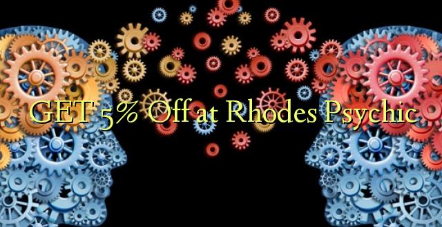 Pata 5% Ondoa Rhodes Psychic