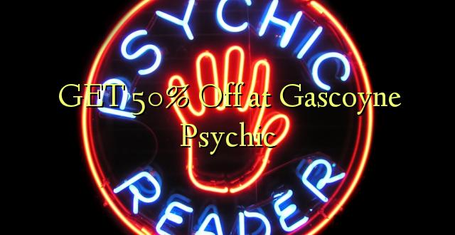 Pata 50% Toka kwenye Gascoyne Psychic